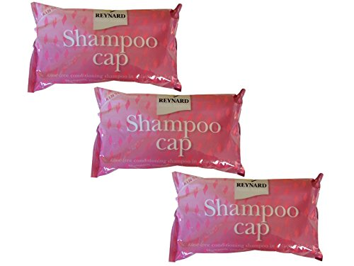 Ability Superstore No Rinse Shampoo Cap - Pack of 3