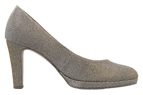 Gabor - Gabor, Scarpe col tacco Donna Platino Metallic