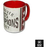 "Hannover Scorpions Keramik-Tasse ""1975"", Weiß/Rot"