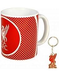 Liverpool F.C. Set tasse et porte-clés du club