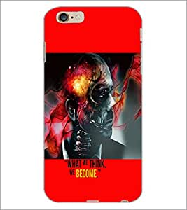 PrintDhaba Quote D-5944 Back Case Cover for APPLE IPHONE 6 PLUS (Multi-Coloured)