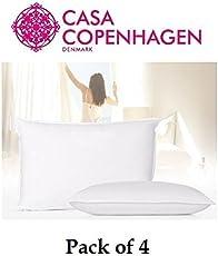 Casa Copenhagen Exotic Premium 4 Pack Pillows Fillers/Inserts 40 cm x 60 cm