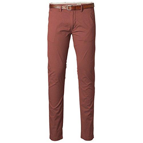 SELECTED - - Uomo - Pantalon Slim Chino Orange Yard pour homme -