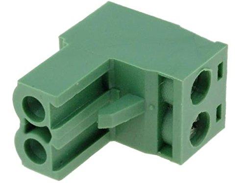4x TBW-5-2P/GN Pluggable terminal block plug female 2.5mm2 5.08mm ways2 NINIGI -