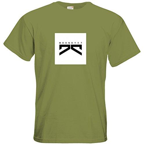 getshirts - Moondye7 official Merchandise - T-Shirt - Logo 1 Green Moss