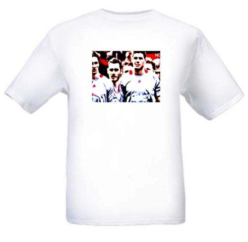 Preisvergleich Produktbild Invisible Glass Steven Gerrard Liverpool FC T Shirt Large Grš§e
