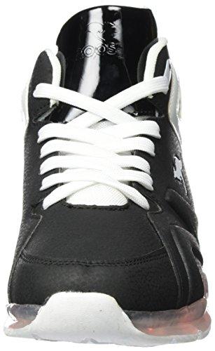 KangaROOS K-Lev VIII Hi, Sneaker a Collo Alto Unisex-Adulto Nero (Jet Black)