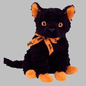 TY Beanie Baby - Fraidy the Cat - 17.8 x 7.6 x 7.6 cm