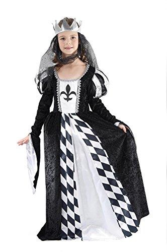 Für Schach Erwachsene Kostüm Königin - Bristol Novelty CC831 Schach Königin Kostüm