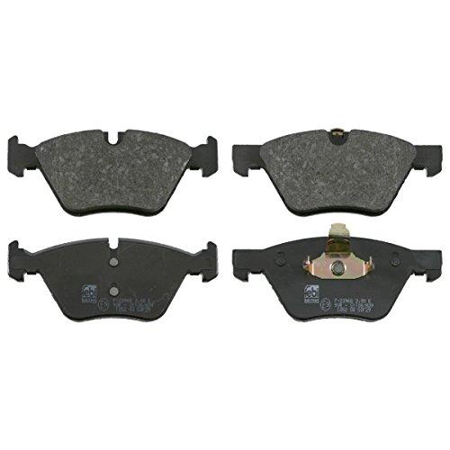 Preisvergleich Produktbild febi bilstein 16503 Bremsbelagsatz (vorne,  4 Bremsbeläge),  für Verschleißwarnanzeiger vorbereitet