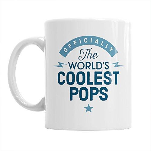 Wrapper für Cake Pops, mit coolsten Pop Pops Geschenk für Geburtstag, Motiv Pop Pops Gifts, Tasse, Wrapper für Cake Pops, Kaffeetasse