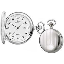 Dugena Herren-Armbanduhr Savonette Taschenuhr Analog Quarz 4460636