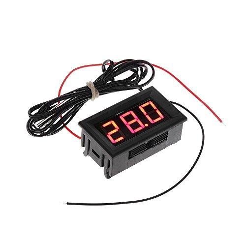 Termometro - TOOGOOR DC 5-12V -50-110 Celsius Indicador