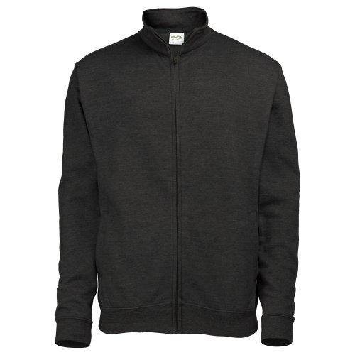 Just Hoods by AWDis Fresher Full Zip, Sweat-Shirt Femme Noir - Noir profond