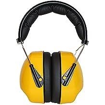 Auriculares de Protección Contra el Ruido, 30db Ruido Protección Orejeras, Auriculares Antiruido Ajustables Banda