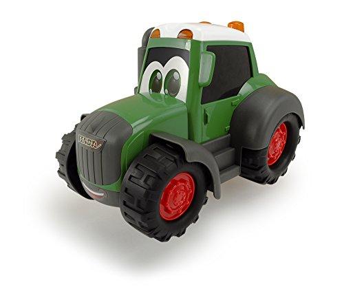Dickie Toys 203814008 - Happy Fendt, Spielzeugtraktor, grün, für Kleinkinder ab 1 Jahr, 25cm