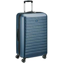 DELSEY PARIS SEGUR 2.0 Valise, 78 cm, 105 litres, Bleu