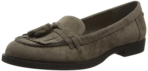 New Look Liverpool Tassel, Mocassins Femme Gris - Grey (04/Mid Grey)