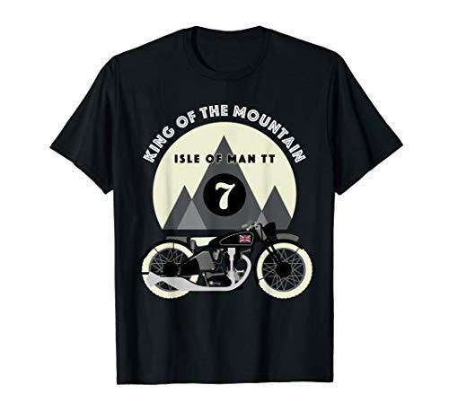 King of the Mountains Isle of Man TT Racing Vintage T-Shirt T-Shirt -