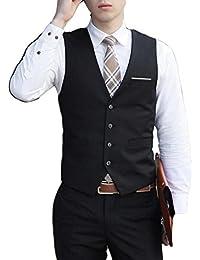 laixing de vestir para hombre vestido traje esmoquin chaleco abrigo slim traje de negocios chalecos de S-6x l