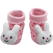 c585f6a72 K-youth® Calcetines De Bebé Dibujos Animados Prewalkers zapatos  antideslizantes Calcetines K-youth Calcetines De ...