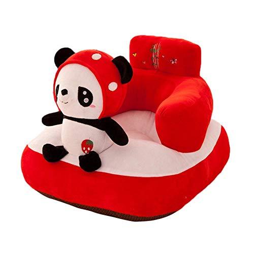 CatcherMy Bébé mignon petit siège enfant dessin animé paresseux siège amovible bébé mini canapé garde-corps chaise