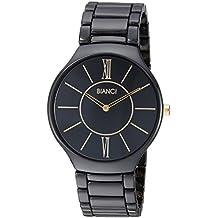 ROBERTO BIANCI WATCHES Capri' cerámica Casual reloj de cuarzo de las mujeres, Color: (modelo: RB58780) Negro