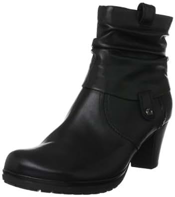 Gabor Shoes Comfort 5608357, Damen Fashion Halbstiefel & Stiefeletten, Schwarz (schwarz (micro)), EU 35 (UK 2.5) (US 5)