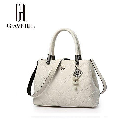 G-AVERIL, Borsa a mano donna Nero Black White
