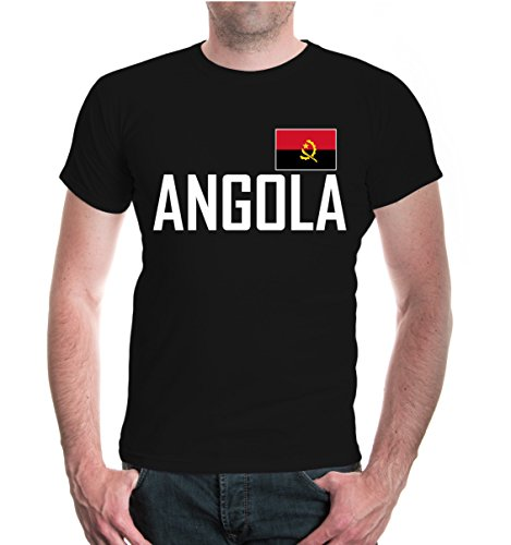 buXsbaum® T-Shirt Angola Black