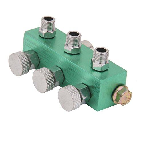 3-Wege-Airbrush Luftschlauch Teiler Reguliert Dosierung Verteiler Für Airbrush
