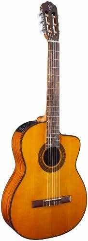 Takamine - Guitarra eléctrica de cuerpo sólido de 6 cuerdas, mano derecha, natural (GC1CENAT)