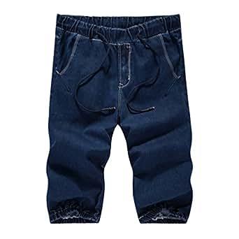 chengyang homme populaire loisir pantalon court grandes tailles short en jean. Black Bedroom Furniture Sets. Home Design Ideas