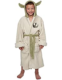 Groovy Uk Kids Star Wars Yoda Bathrobe Small (4-5yrs)