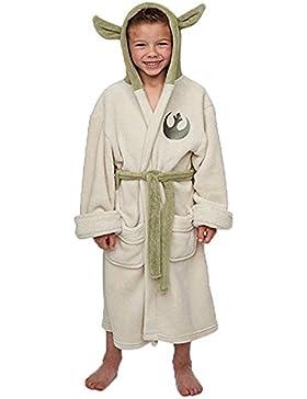 Groovy UK Albornoz para niño (talla S, 4-5 años), diseño de Yoda de Star Wars
