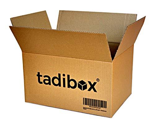 Pack 15 Cajas de Cartón Alta Resistencia - 440x300x250mm - VARIOS TAMAÑOS - Canal Simple Alta Calidad Reforzado - Cajas Mudanza y Almacenaje Fabricadas en España 100% RECICLABLES