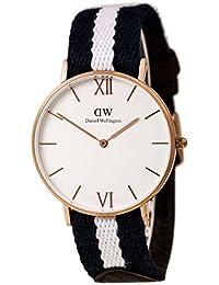 Daniel Wellington  0552DW - Reloj de cuarzo para mujer, con correa de tela, color multicolor