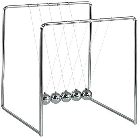 BOJIN Newton Sfere dell'equilibrio della Culla del Pendolo Scienza Toy Puzzle - Telaio in Metallo