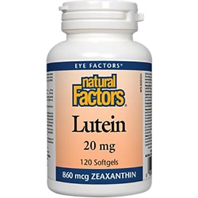 Natural Factors Lutein, 120 Softgels, 20 Mg from Natural Factors
