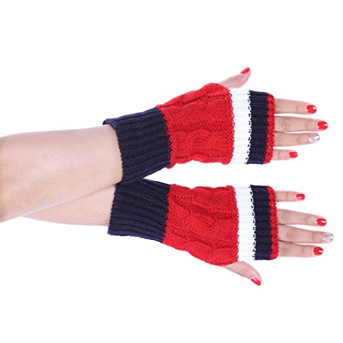 hunpta-fashion-knitted-arm-fingerless-winter-gloves-soft-warm-mitten-red