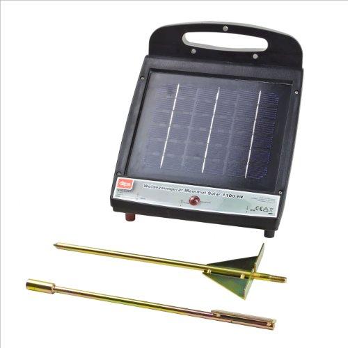 *DEMA Weidezaungerät Mammut Solar 1100 6V*