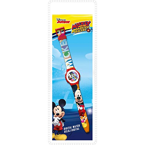 Mickey Mouse- Smart Watch Armbanduhr, (KD-WD19647)
