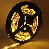 Strisce LED, Bare Consiglio Warm White LED 5050 SMD Corda, 30 LED / M, lunghezza: 5M