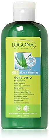 Logona - 1011lai - Daily Care - Soin du Corps - Lait pour le Corps Aloès Bio / Verveine - 200 ml