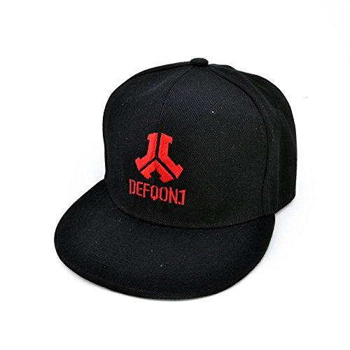 mznwpm Rock Stickerei Caps Rock Band Lüfter Kühlen Sommer Baseball Cap Hip Hop Cap Hardstyle Hat