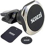 scozzi KFZ Magnet Handy Halterung Lüftung, auch für r&e Lüftungslamellen, Auto Halter Smartphone Handyhalterung Handyhalter Lüftungshalterung Lüftungshalter Magnethalter Magnethalterung magnetisch