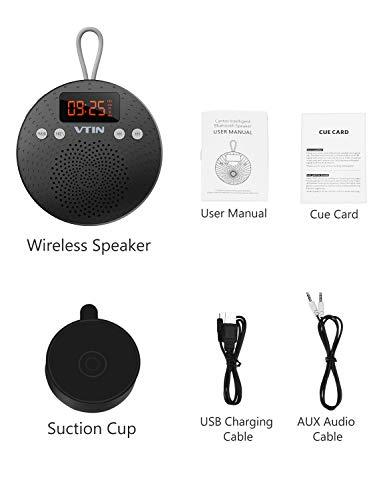VicTsing Bluetooth Lautsprecher, Tragbarer wasserdichter Wireless Lautsprecher – Mit Bluetooth - 6