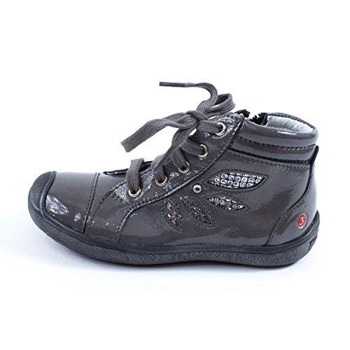 GBB Linette, Chaussures de ville fille Gris