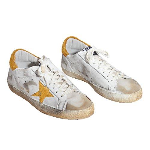 Golden Goose, Chaussures basses pour Homme Orange