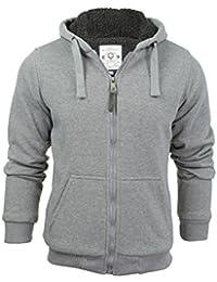 Mens westace Zone Zip Up Sherpa Lined Hooded Fur hoodie Jacket
